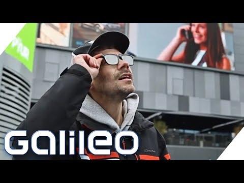Diese Brille kann Werbung ausblenden - gibt es sie wirklich? | Galileo | ProSieben