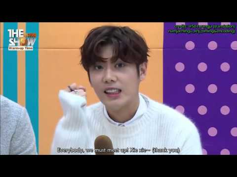 [Eng Subs] 160216 Double S 301 더블에스301 THE SHOW Warm Up Time