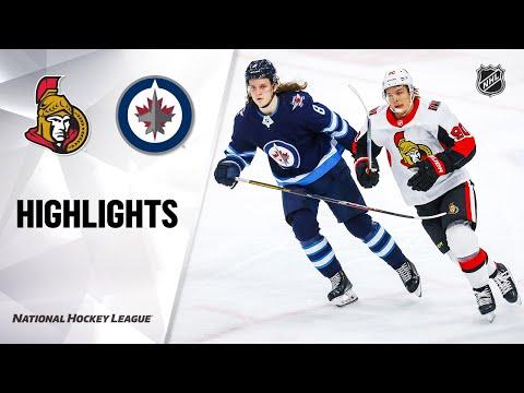 NHL Highlights   Senators @ Jets 02/08/20