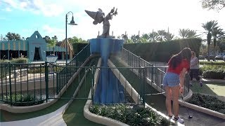 ONE OF THE BEST MINI GOLF COURSES IN THE WORLD! - Hole in Ones, Crazy Holes and Shots!