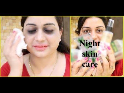 Night Time Skin Glowing Routine Using just 4 Natural Ingredients!