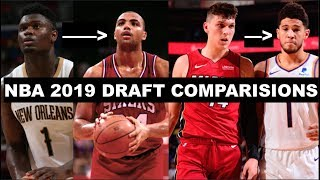 Most Accurate Comparisons For Every 2019 NBA Draft Lottery Pick!