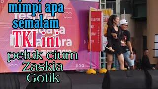 Download lagu TKI beruntung di cium zaskia gotik konser taiwan