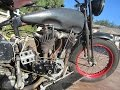 1927 Harley Davidson J Cut Down For Sale