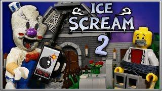 LEGO Мультфильм Мороженщик 2 Часть - Horror Game  ce Scream 2