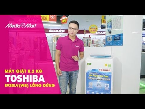 Máy giặt Toshiba 8.2 Kg E920LV –  Giá bình dân cho mọi người