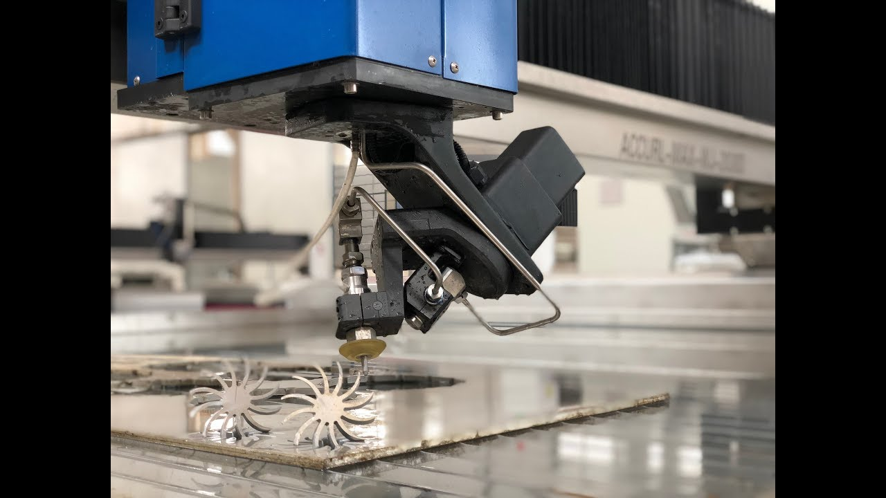 ACCURL 3D Waterjet Cutting Machine with 5 Axis Water jet CNC Cutting price  for sale