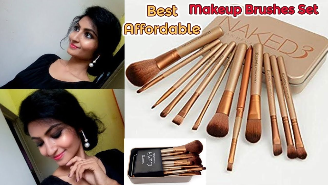 urban decay brushes. cheapest makeup brushes in india || urban decay naked 3 dupe review g