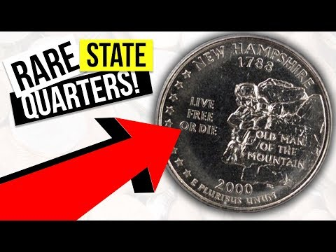 STATE QUARTERS WORTH MONEY - RARE QUARTERS TO LOOK FOR IN CIRCULATION!!