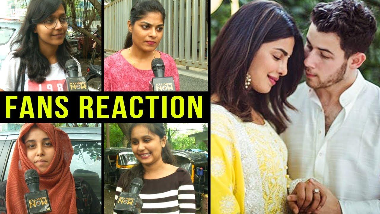 Fans Crazy Reaction On Priyanka Chopra Marriage To Nick Jonas Priyanka Nick Engagement 2018 Youtube