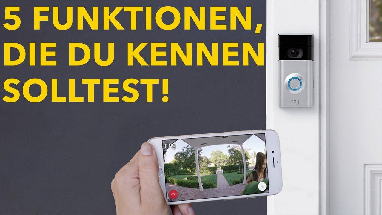Ring Video Doorbell 2 - 5 Dinge die Du mit der Video-Türklingel machen  kannst