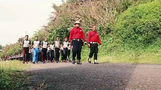 Pengukuhan CPNS Kanwil Kemenkumham Jateng di Nusakambangan