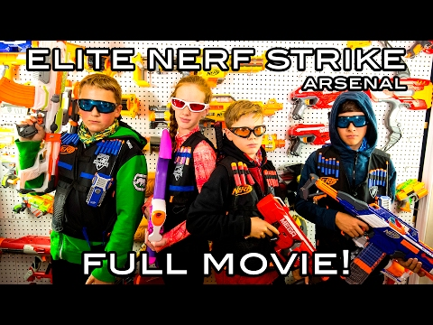 Thumbnail: Elite Nerf Strike: Arsenal | Full Movie! (Nerf War)