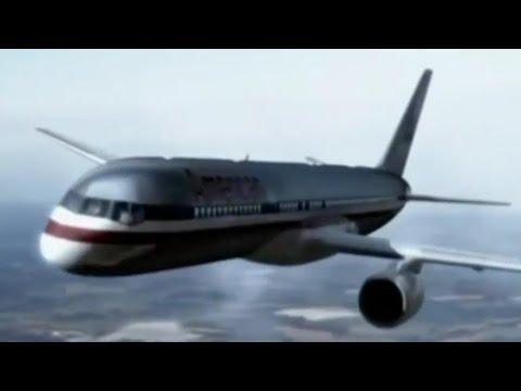 American Airlines Flight 77 - Crash Animation