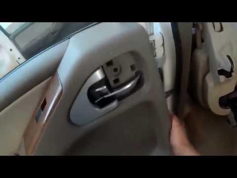 Как снять обшивку двери ниссан навара
