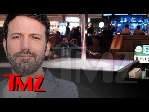 Ben Affleck Kicked Out of Hard Rock Casino For Counting Cards!!! | TMZ