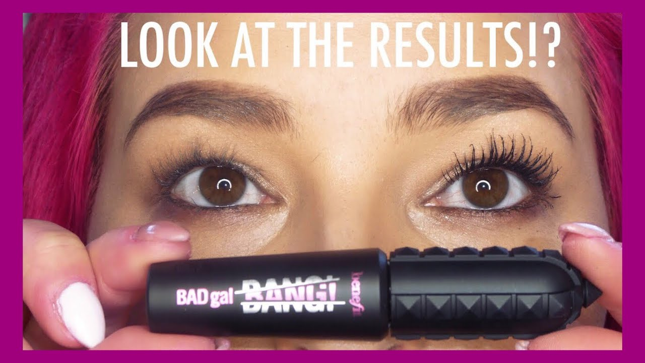 b1e3708276c WHAT THE HELL? Bad Gal Bang Mascara Review | Benefit Cosmetics ...