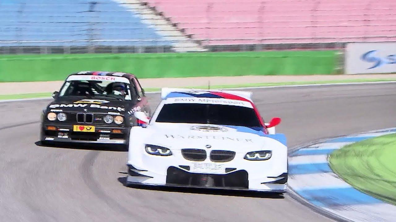 BMW E30 M3 >> BMW M3 DTM E30 vs. BMW M3 DTM E92 - YouTube