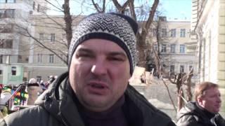 Масленица в Михайловском парке в районе Замоскворечье. Документальный фильм Дениса Давыдова.