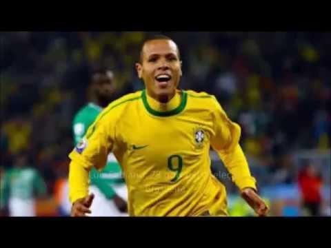 28 gols do Luis Fabiano pela seleção