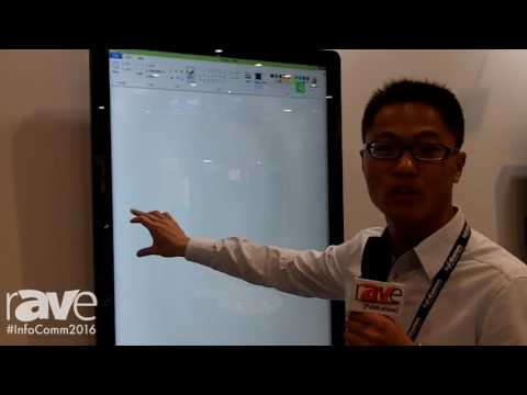 InfoComm 2016: TSD Details Touch Screen Displays