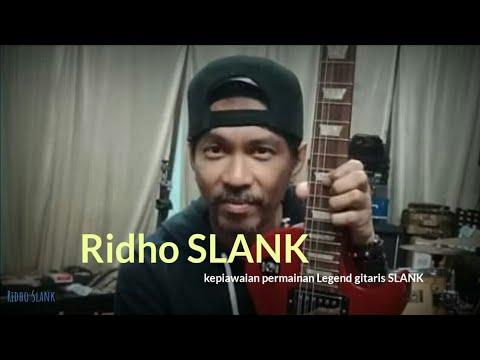 RIDHO SLANK - Skill Dewa Gitaris INDONESIA