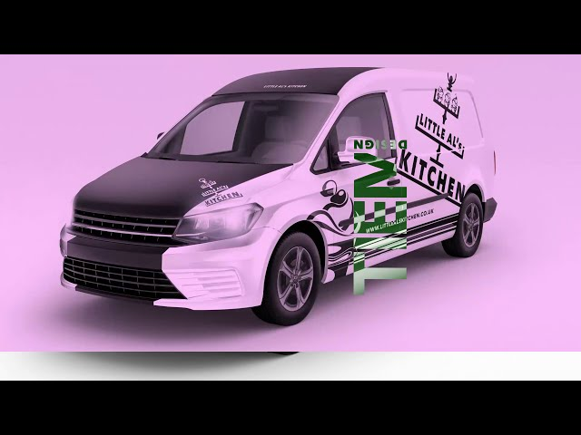 Little Al's Kitchen Van Vinyl Design