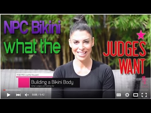 What the Judges Look For: NPC Bikini Division (National Physique Comittee)