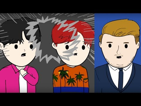 BTS Animation: BTS on the Ellen Show, Jimmy Kimmel, and The Late Late Show with James Corden