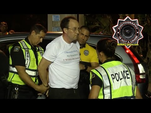 FairDUI Flyer Lawyer Warren Redlich Arrested at DUI Checkpoint in Coral Gables, Florida