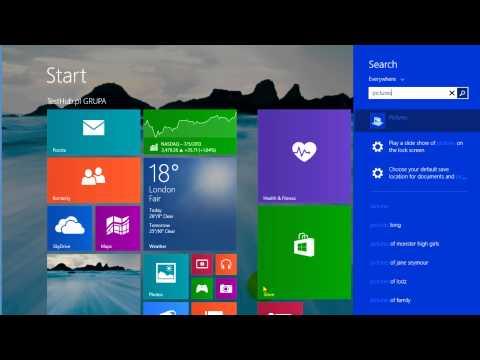 Windows 8.1 przycisk start i co nowego | Prezentacja