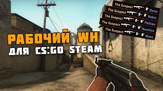 Рабочий WH для CS:GO Steam
