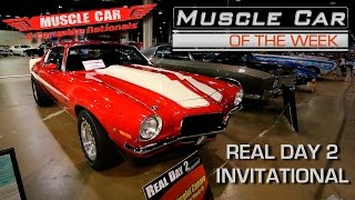 Day 2 Cars at Muscle Car and Corvette Nationals - Muscle Car Of The Week Video Episode #197