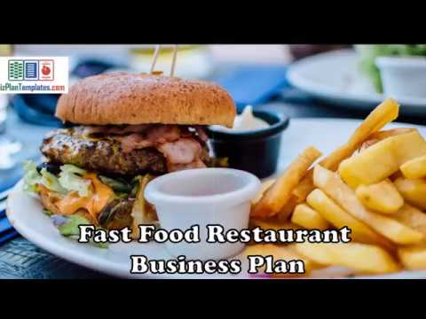 fast food restaurant business plan - template with example and
