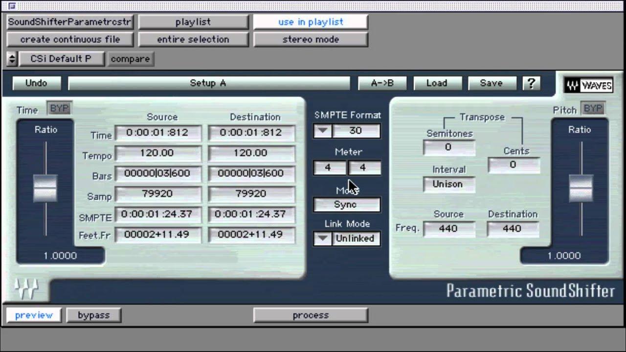 Программа soundshifter скачать бесплатно