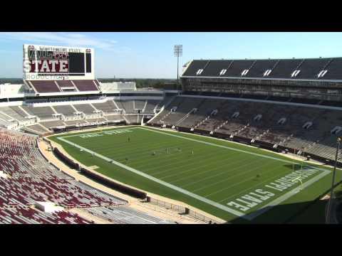 Davis Wade Stadium - Scott Field Painting Time Lapse