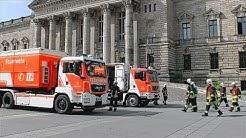 Verdächtiger Brief am Bundesverwaltungsgericht Leipzig löst Großeinsatz aus