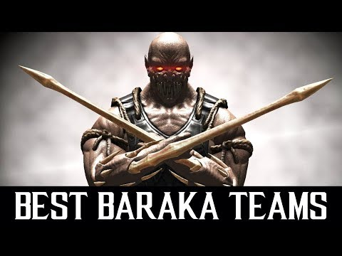 Best Baraka Teams in MKX Mobile. LIVE Stream + Free Souls Giveaway.