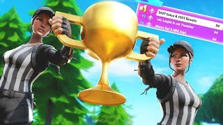 1ST PLACE DUOS - Fortnite World Cup Week 6