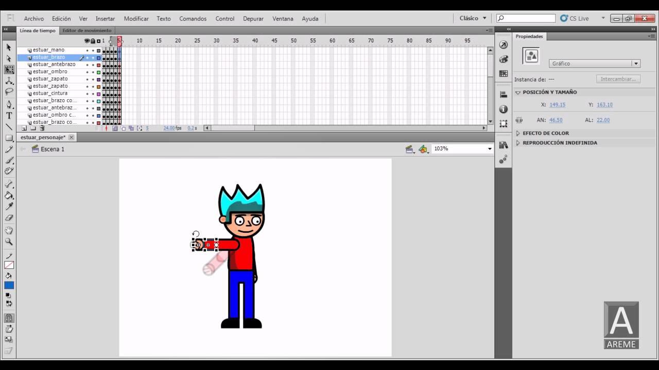 Bonito Cómo Crear Animación Fotograma A Fotograma Flash Galería ...