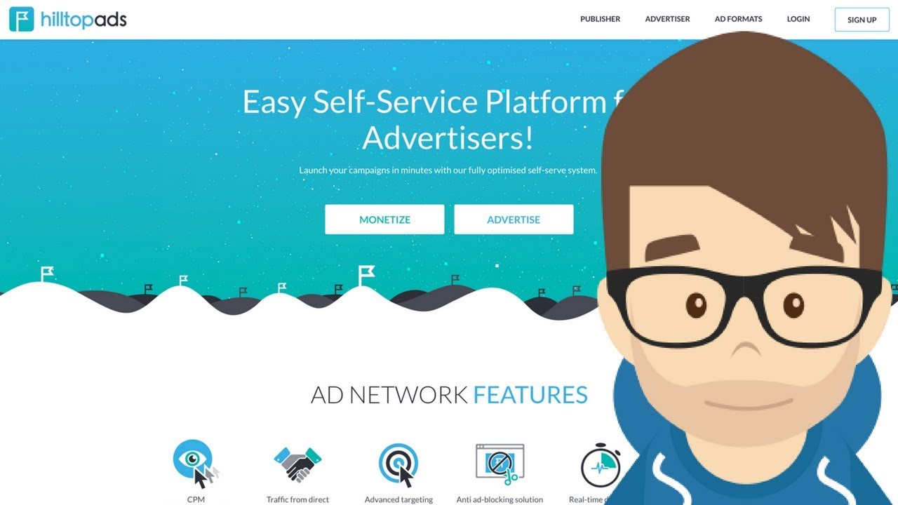My First Impression and Campaign with HillTopAds