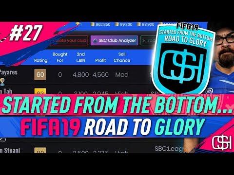 MAKING COINS FROM SBC'S I FUTBIN IMPORT CLUB I FUTBIN SBC ANALYZER I FIFA 19 ROAD TO GLORY #27