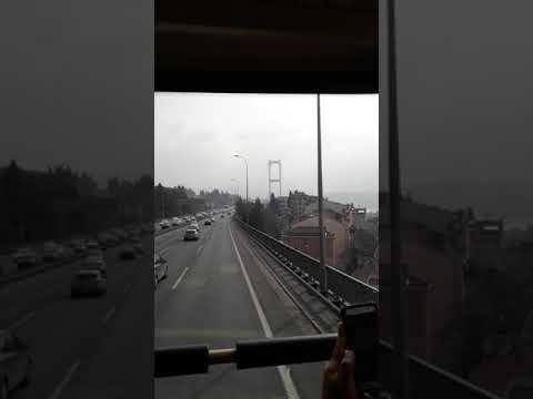Estreito de Bósforo - (PONTE) - Istambul - Turquia- Hilvana e Luciano Parada