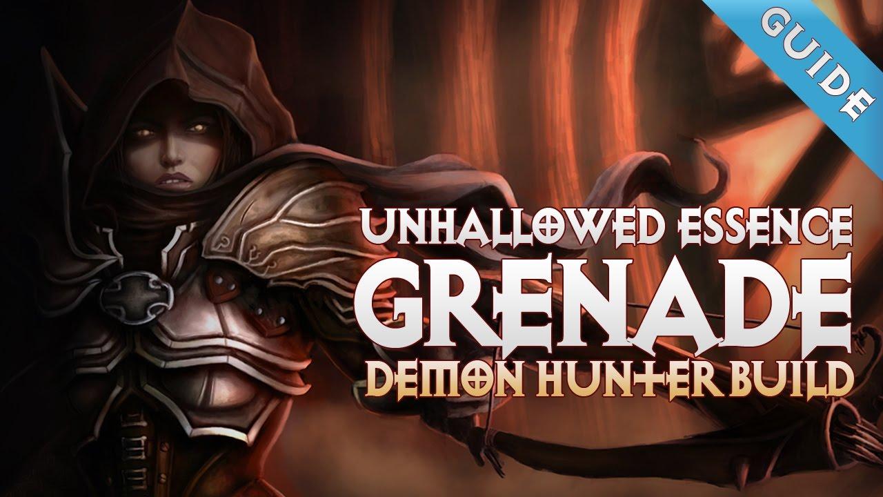 Demon Hunter Diablo  Grenade Build