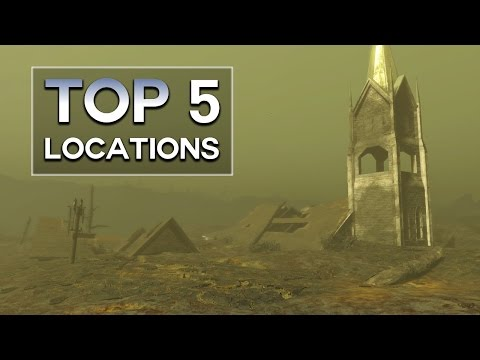 Fallout 4 - Top 5 Glowing Sea Locations
