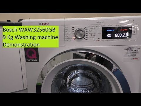 Bosch WAW32560GB 9Kg Serie 8 Washing Machine