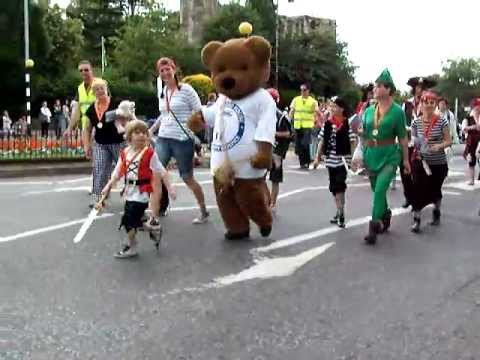 Newark-On-Trent  carnival parade