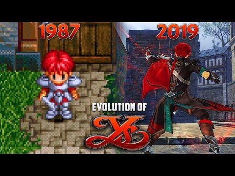 Evolution Of YS Games 1987-2019