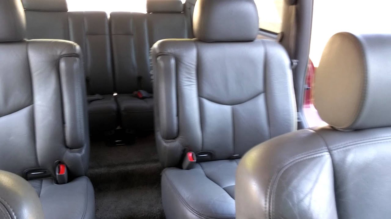 2003 Gmc yukon 2nd row captain seats conversion #3