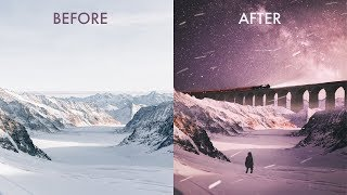 """Create a Dreamy """"POLAR EXPRESS"""" Photo Manipulation With Your iPhone"""